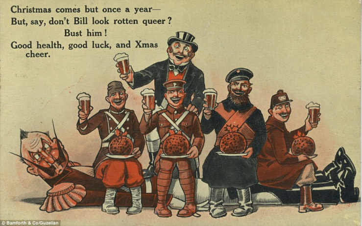 Bamforth & Co Xmas Card