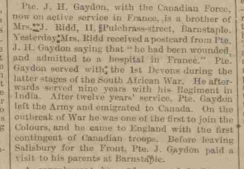 JH Gaydon injured in France for blog
